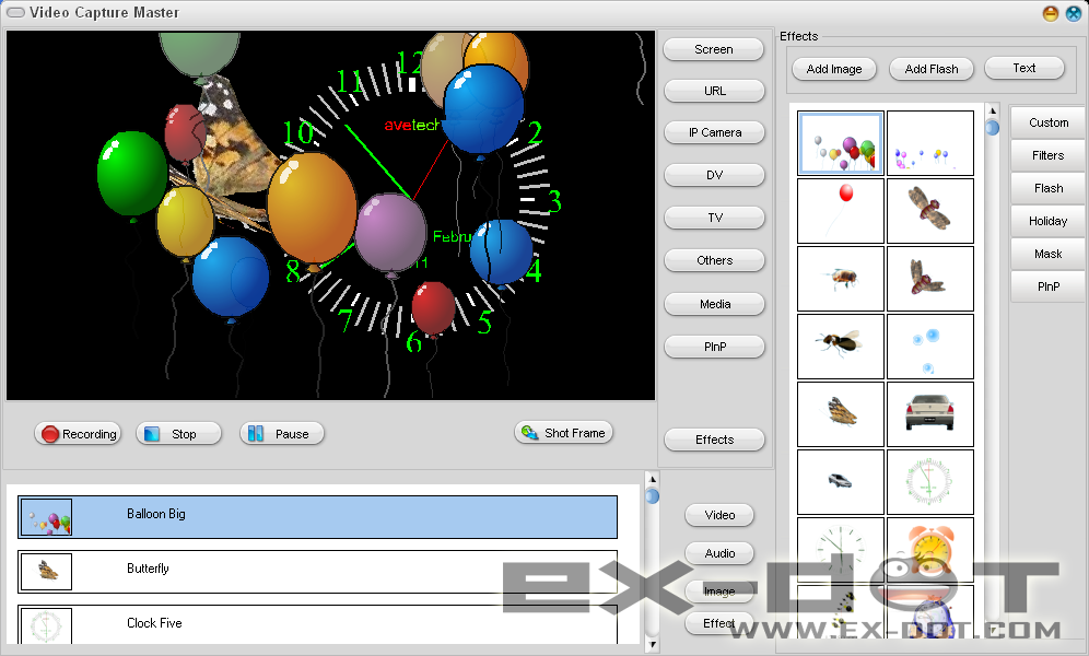 Debut Free Screen Recorder and Video Capture