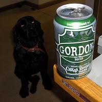 Charlie the beer dog