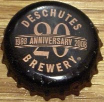 Deschutes bottle cap