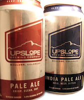 Upslope Brewing cans