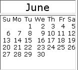 June 2010 events