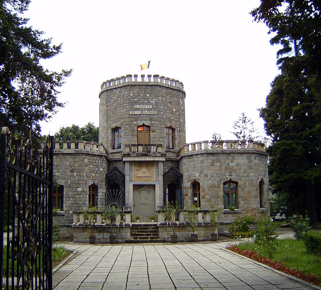 Iulia hasdeu castle true romania for Small castle house plans