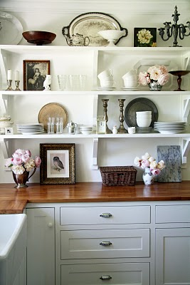 Shop talk blog open shelving decor open shelf tip 1 surround yourself with the things you love solutioingenieria Choice Image