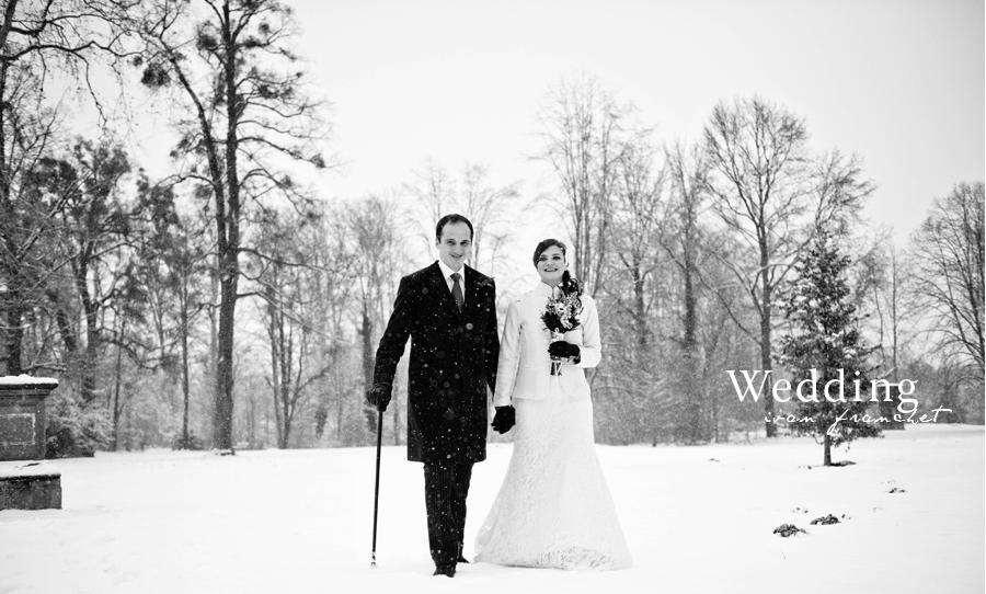 mademoiselle wedding mariage d 39 hiver ga lle et fr d ric. Black Bedroom Furniture Sets. Home Design Ideas