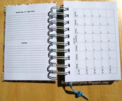 shortyroses 39 papiertr ume geburtstags organizer und termin kalender zum selber basteln. Black Bedroom Furniture Sets. Home Design Ideas