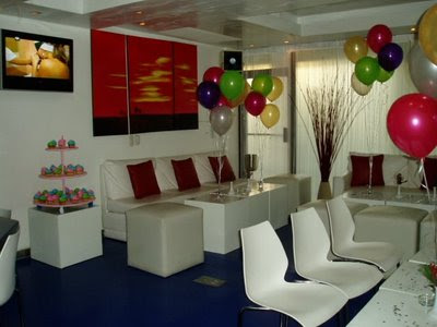 Decoracion Cumpleaños en PRAVDA SUSHI BAR & LOUNGE