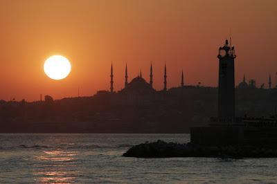 istanbul günbatımı