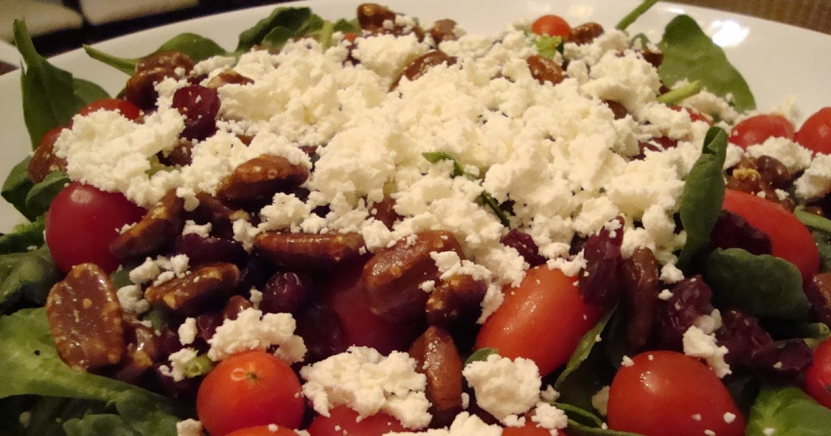 What's Cookin, Chicago?: Cranberry Praline Pecan Spinach Salad