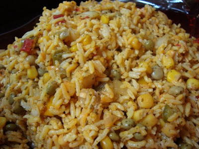 Arroz Con Gandules (Rice With Pidgeon Peas) Recipe — Dishmaps