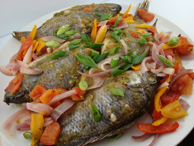 how to cook a tilapia whole fish
