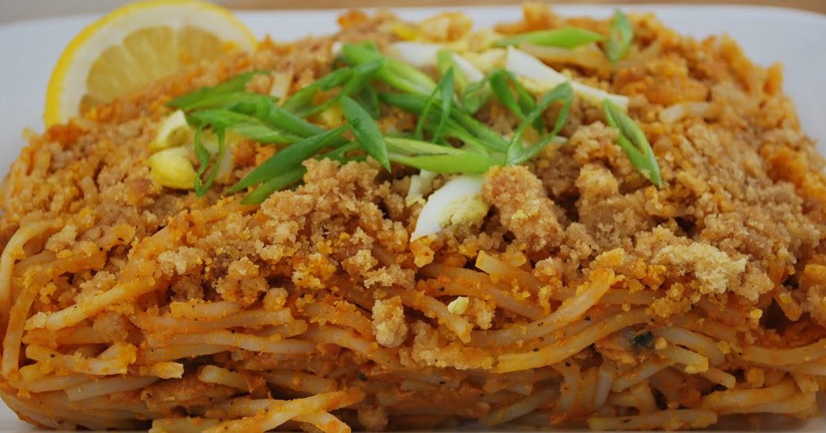 how to make filipino pancit palabok