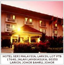 HOTEL SERI MALAYSIA, LARKIN
