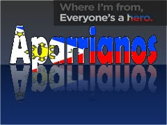 Proudly Aparriano, Proudly Pinoy