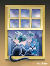 """Gato na janela"""
