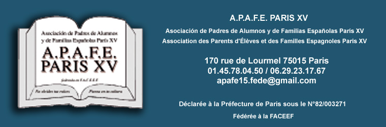 APAFE PARIS 15ème