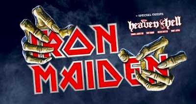 Iron Maiden & Heaven & Hell live in Bergen, Germany August 11, 2010