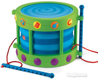 RECALL: Step2® Basic Rhythms Drum™ Toys Due to Choking Hazard