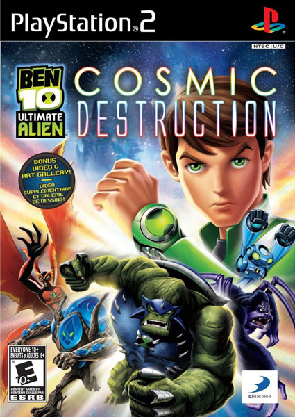 Ben 10 Ultimate Alien Cosmic Destruction PS2 USA [MEGAUPLOAD]