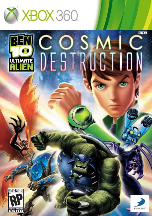 Download Ben 10: Ultimate Alien Cosmic Destruction Xbox 360 (Region