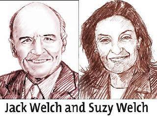 Jack Welch and Suzy Welch