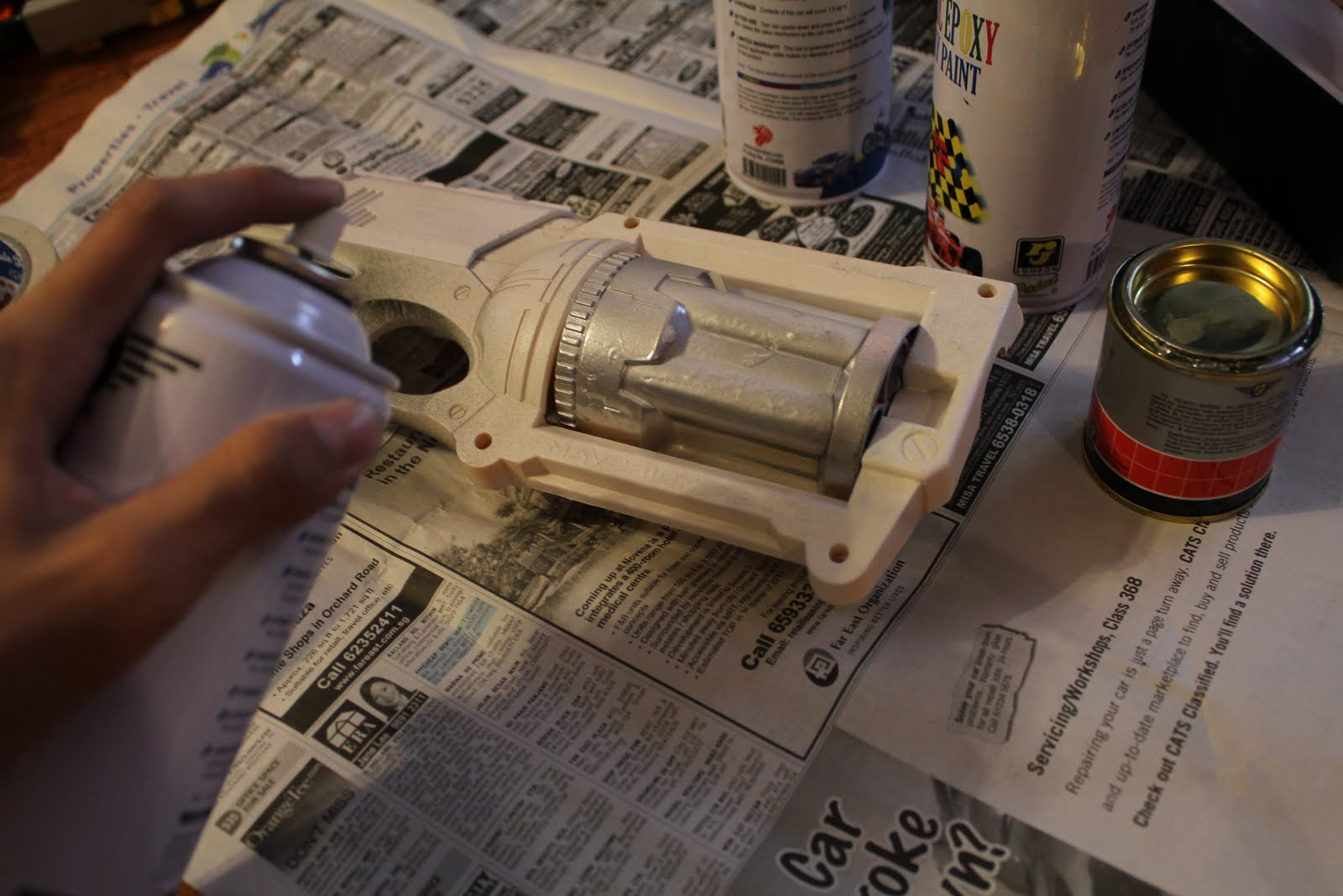 nerf the foam workshop service nerf gun painting. Black Bedroom Furniture Sets. Home Design Ideas