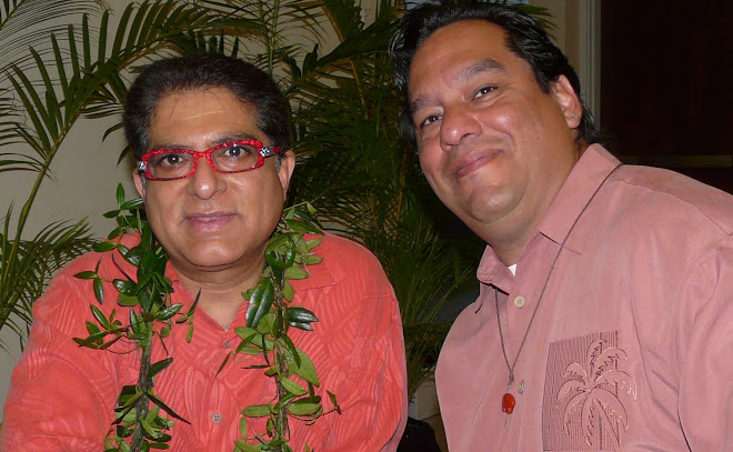 Deepak Chopra and Al Diaz