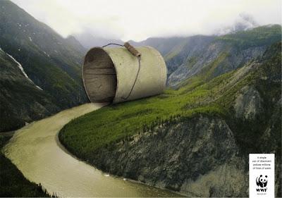 rio, poluído, poluição