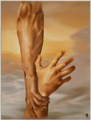 Deus, jesus, fé, quebrantado, Senhor