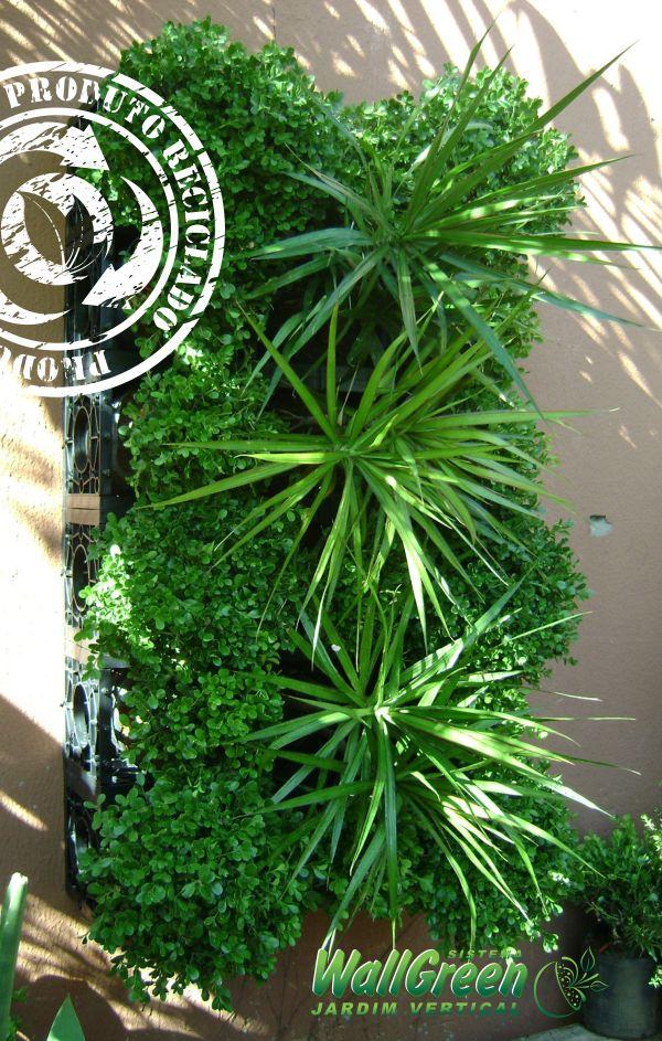 kit jardim vertical wallgreen:WallGreen Jardins Verticais: Jardim Vertical – Solução Sustentável!