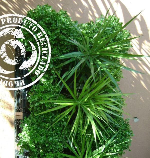 jardim vertical wallgreen:WallGreen Jardins Verticais: Jardim Vertical – Solução Sustentável!