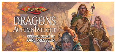 Composer Karl Presseur scores Dragonlance: Dragons of Autumn Twilight