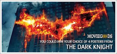 Win THE DARK KNIGHT Poster Print