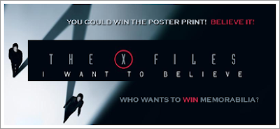 Win THE X-FILES: I WANT TO BELIEVE Poster