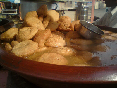 Kanji Vadas - Street food of Rajasthan