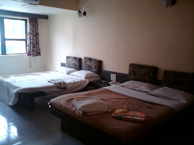 My room at the MTDC's Pilgrims Inn hotel - Shirdi