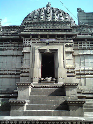 One of the gates to the temple