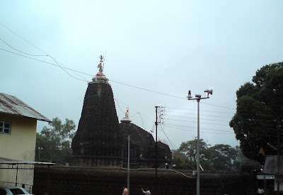 The Trimbakeshwar Shiva Temple near Nashik