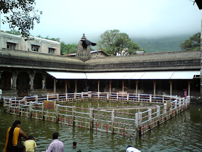 The sacred pilgrimage known as Kushavart in Trimbakeshwar