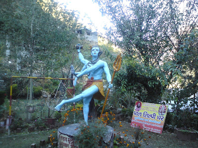 Lord Shiva in Tandav pose - Pilot Baba Ashram