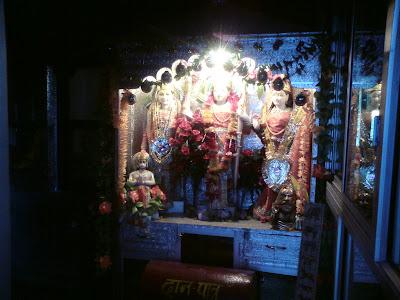 Lord Ram, Laxman and Sita alongwith Hanuman - Pilot Baba  Ashram