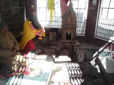 Bhagirath Shila in Gangotri