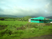 On the way to Trimbakshwar from Nashik. Clouds are exhilarating;