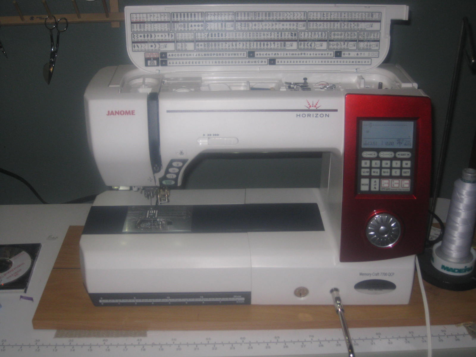 Janome memory craft 6600 - I Ve Read That People Have Gotten The 7700 Table Added In Or Some Other Nice Items I Traded In My 6600 For It And Got A Decent Price For It