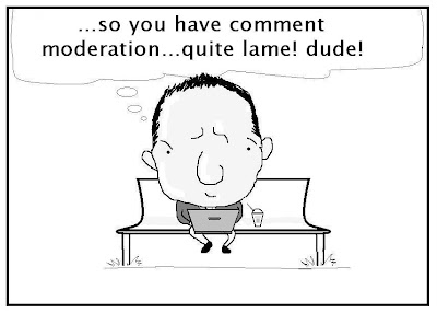 comment moderation, privacy settings, indian techie, blog comments, commenting