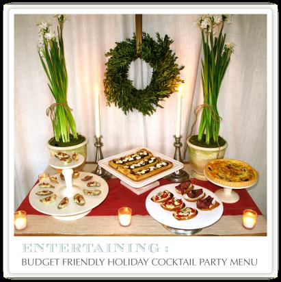 Holiday party recipes easy