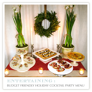 Jenny steffens hobick holidays entertaining christmas for Hosting a christmas cocktail party