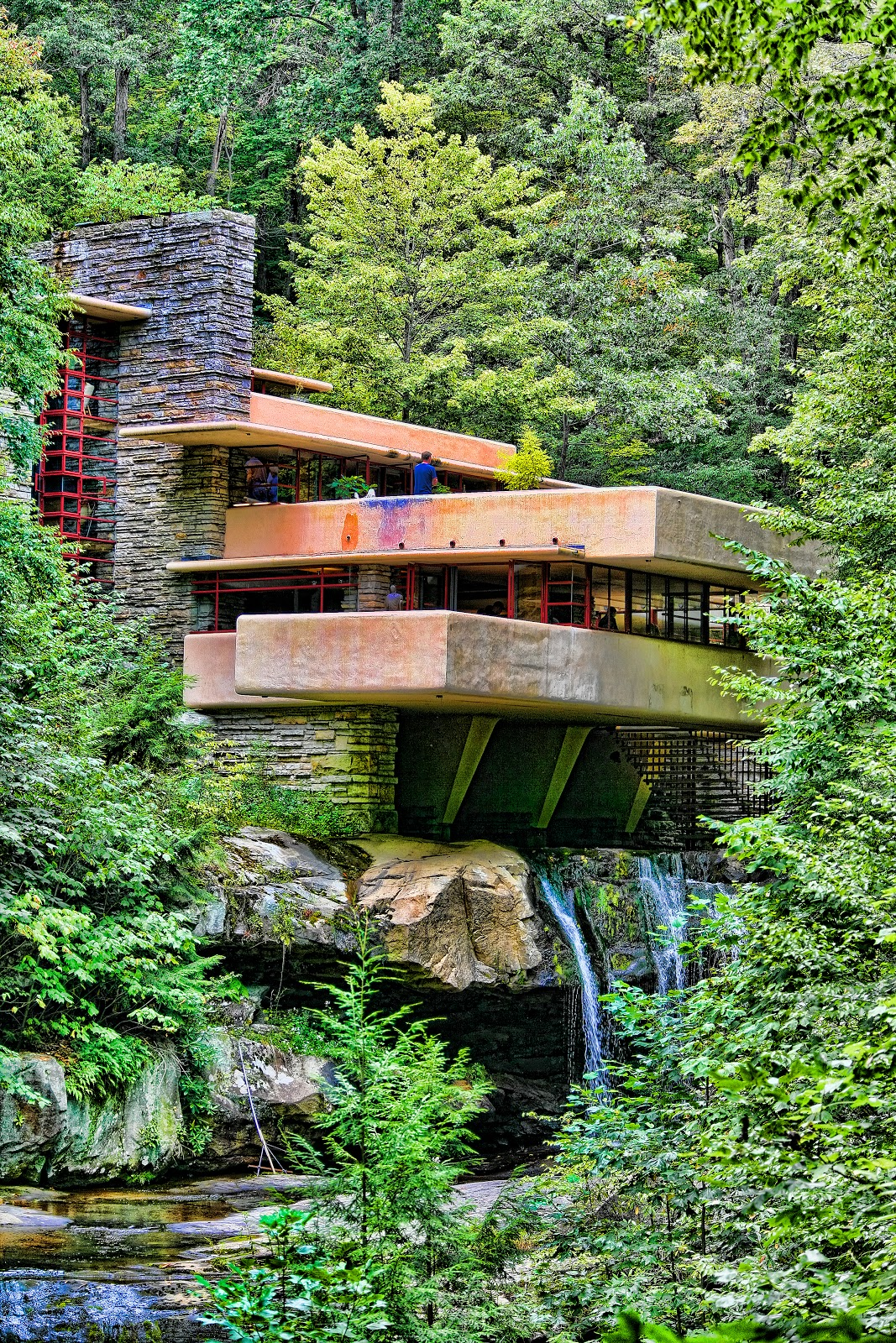 Chuck Kuhn 39 S Usa In Photos Frank Lloyd Wright Falling Water
