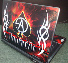 Custom Fully skined lappy