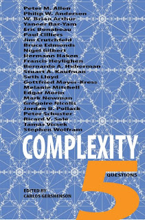 Complexes: New Book: Complexity: 5 Questions