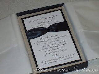 Ladies And Gentlemen, I Present Kathryn And Derricku0027s Boxed Wedding  Invitationsu2026